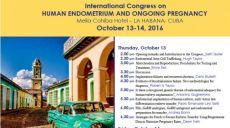13-14 Ottobre 2016 - International Congress on HUMAN ENDOMETRIUM AND ONGOING PREGNANCY